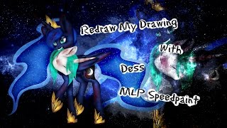 Redraw My Drawing #8 with Dess -  MLP Speedpaint