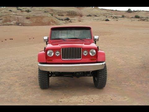 2012 Easter Jeep Safari: Mighty J-12 Concept takes on Moab, Utah