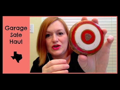 Garage Sale Haul to Sell on Ebay, Etsy, Amazon FBA, and Antique Booth - Make Money Selling Online
