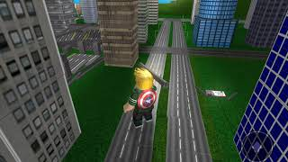 Roblox gameplay Captain America Avengers