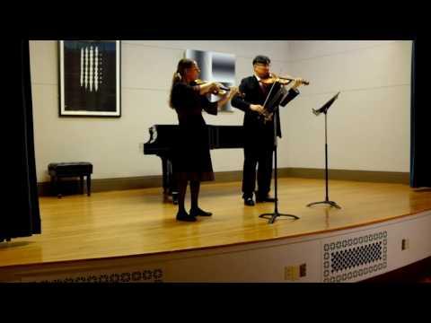 Duo No. 2 B-flat major, K, 424 - W.A. Mozart (1756-1791) I. Adagio   allegro