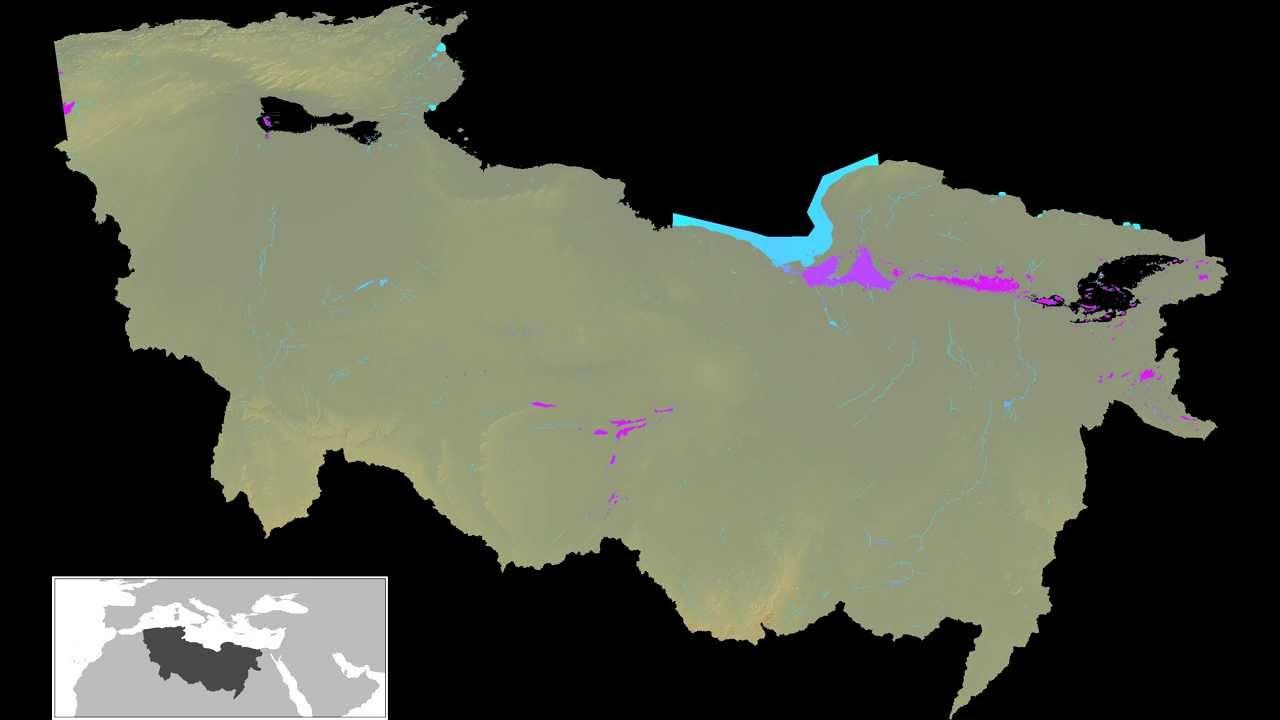 Ancient Saharan rivers