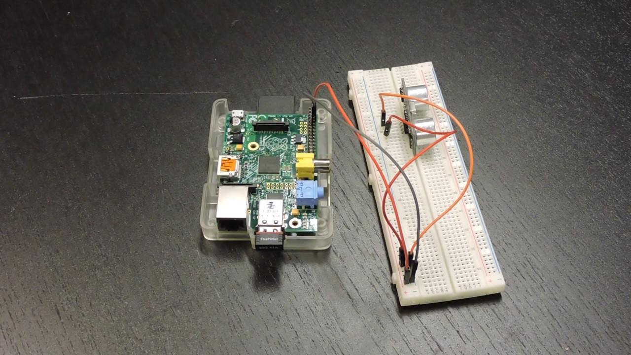 Using Ultrasonic Sound Sensor with a Raspberry Pi