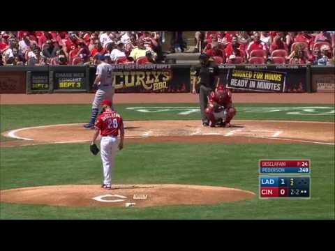 August 21, 2016-Los Angeles Dodgers vs. Cincinnati Reds