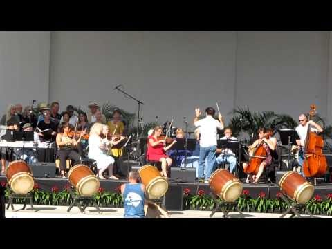 The Maui Pops Orchestra & Frisco Opera singers - singing joyfully (Maui live 3.12.11)