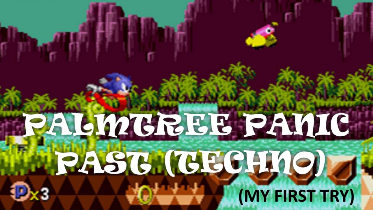 Sonic CD OST - Palmtree Panic (Techno Remix)