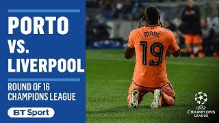 Champions League Highlights: Porto 0-5 Liverpool