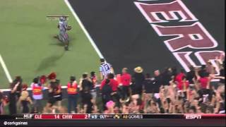 Texas Tech loses touchdown by dropping ball too soon