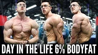 The Reality of Being 6% Body Fat DAY IN THE LIFE   6 Days Out...