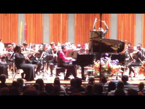 Nicholas Turner Performs Ravel's Piano Concerto In G Major With Tucson Philharmonia Youth Orchestra