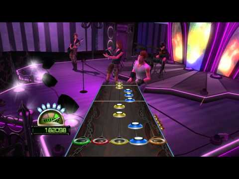 """Guitar hero World Tour all in one """"through the fire and flame"""" GHWT 27 06 2015 20 42 34"""