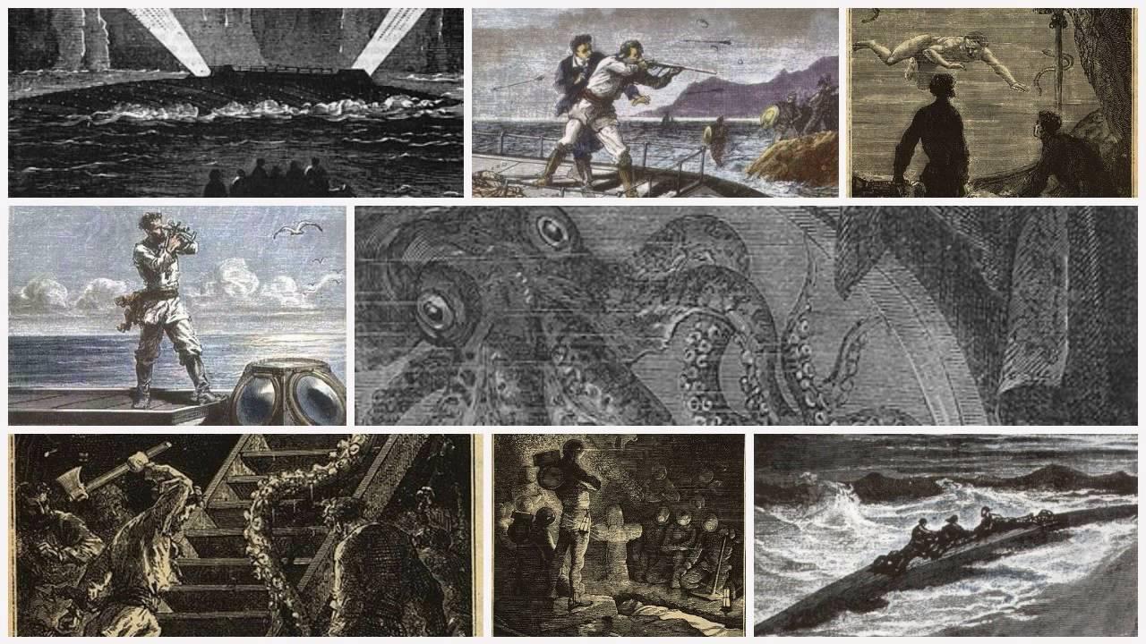 Resultado de imagen de veinte mil leguas de viaje submarino