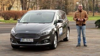 Nowy Ford S-Max 2.0 TDCI Power Shift (2015) - test [PL]