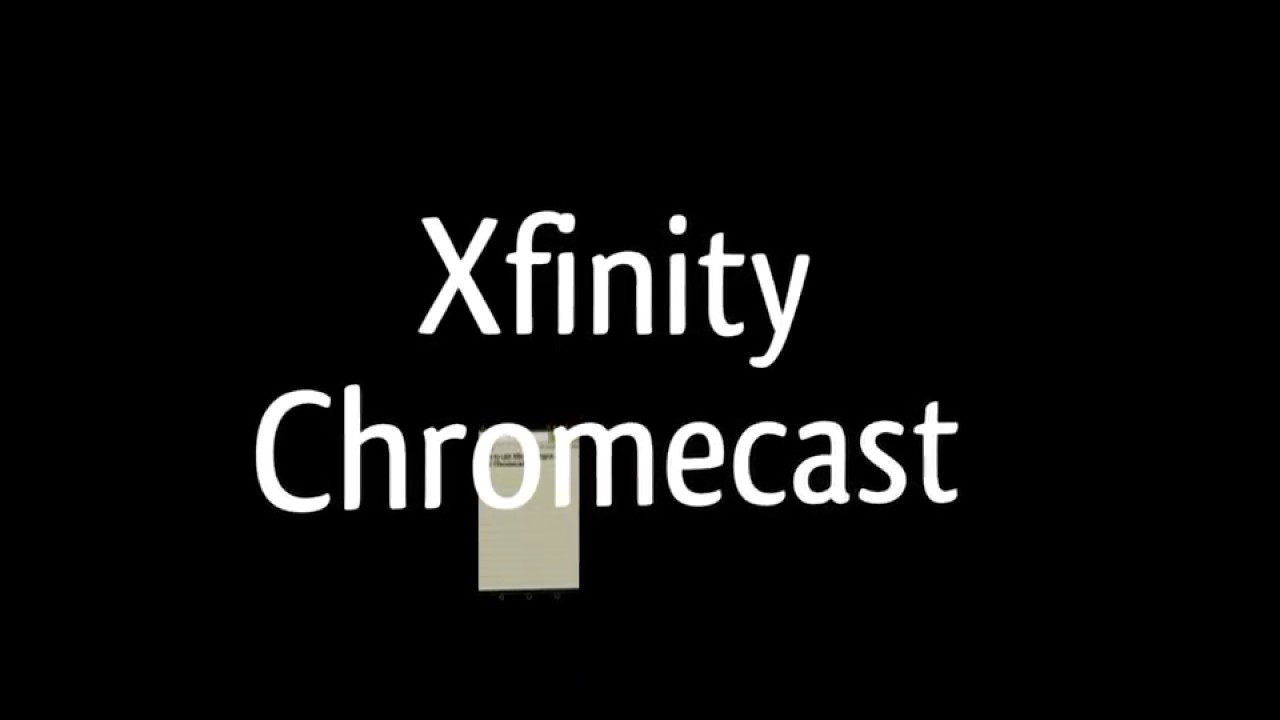 How to use Xfinity hotspot with Chromecast
