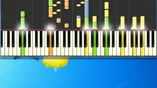 Art Garfunkel   Bright Eyes [Synthesia Piano] [Piano Tutorial Synthesia]