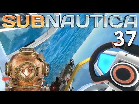 "Subnautica Gameplay Ep 37 - ""I FLIPPED OVER THE CYCLOPS SUBMARINE!!!"" 1080p PC"