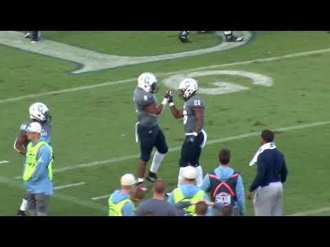 The Citadel football vs Samford Highlights 11/10/18