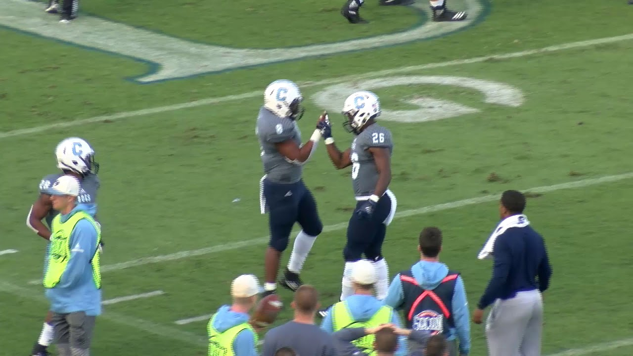 What No  1 Alabama and The Citadel get from a huge college