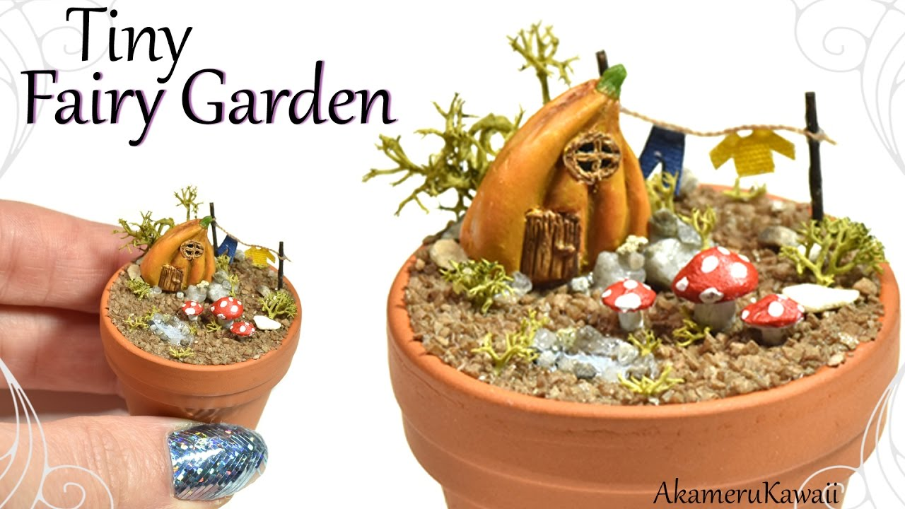 Fairy Garden Polymer Clay Tutorial