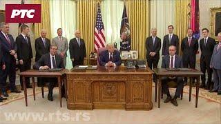 Potpisan sporazum u Beloj kući