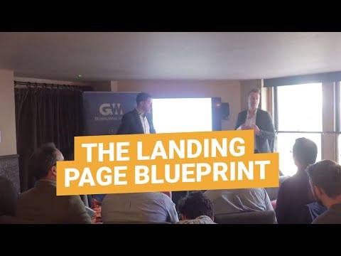 The Landing Page Blueprint: How to build high converting landing pages