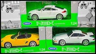 НОВЫЕ ГОНОЧНЫЕ МАШИНКИ! Обзор и распаковка машинок Audi TT, Porsche. Мультик про машинки на русском