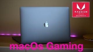 MacBook Pro 15 Vega 20 Gaming Review on macOs - Fortnite Dota 2 CSGO Civ 6 DXMD & Boot Camp Windows