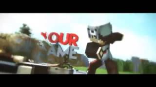NEW AWESOME Minecraft SWORD PVP Intro Template [ C4D ] #4