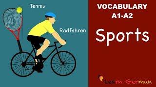 Learn German | Learn German Vocabulary | Sports (Sportarten)