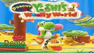 Poochy y Yoshi´s Wooly Wold Demo Probando el juego