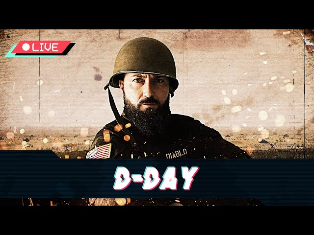 [ES] D-DAY, OPERACIÓN OVERLORD, Desembarco de Normandía - US ARMY -. Squad ALPHA