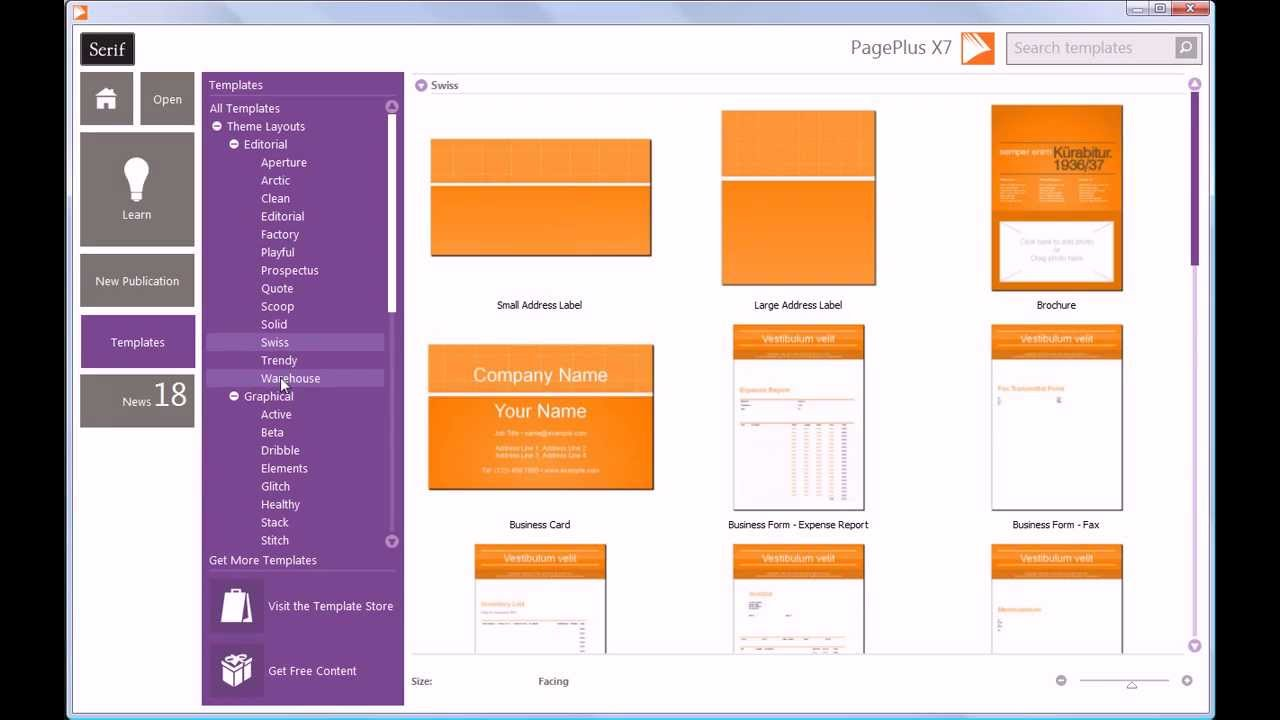 Create Eye-Catching Documents with PagePlus X7 (minivid) - YouTube