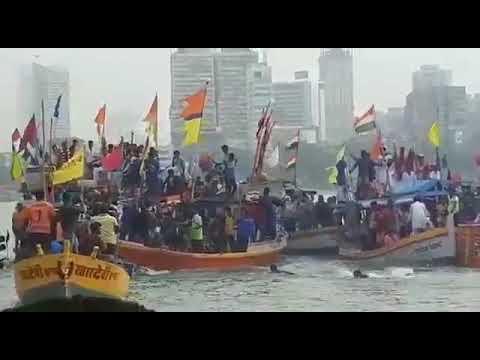 Boat got submerged during ganapati visarjan