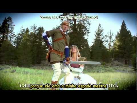 THE LEGEND OF ZELDA RAP [MUSIC VIDEO] - Smosh - Legendado