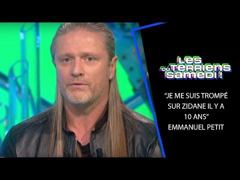« Je me suis trompé sur Zidane il y a 10 ans » Emmanuel Petit