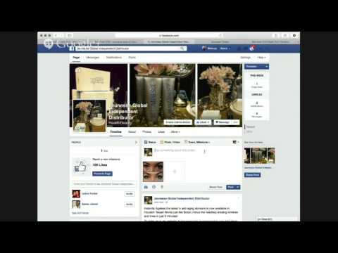 How To Start Your Jeunesse Global Independent Distributor Facebook Business Page