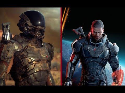 Mass Effect 3 & Mass Effect Andromeda gun sound comparison
