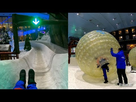 Tour Of Ski Dubai - Largest Indoor Ski & Snowboard Resort In The Desert