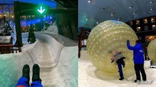 Tour of Ski Dubai - Largest Indoor Ski \u0026 Snowboard Resort in the Desert