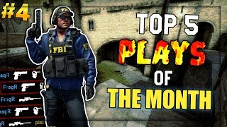 ACE CLUTCH, AWP FLICKS & NOSCOPES! - Top 5 Plays of The Month #4 (SEPTEMBER)