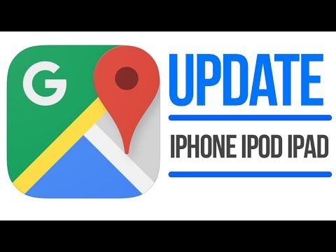 Update Google Maps | How To Update Google Maps App In IPhone IPod IPad