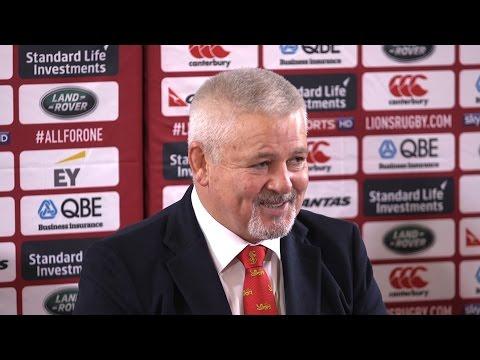 British & Irish Lions - Warren Gatland Press Conference Ahead Of New Zealand Tour