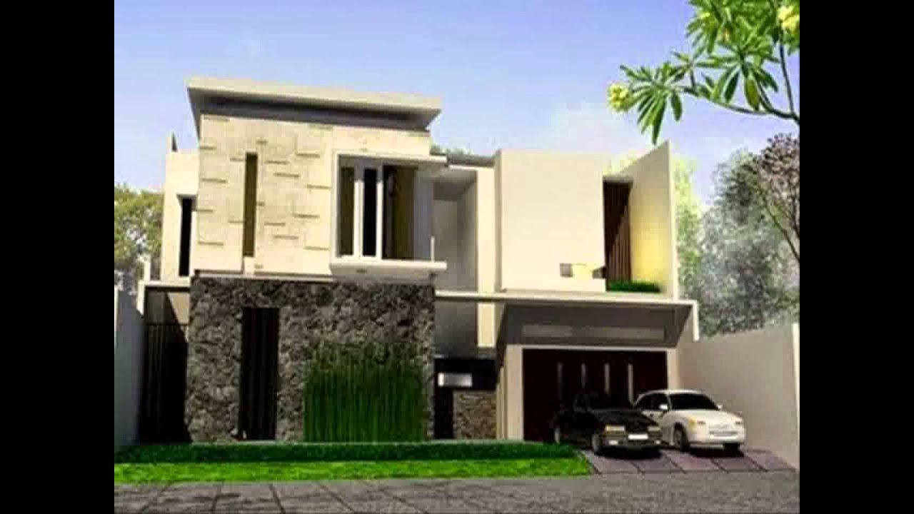 Desain Rumah Minimalis 2 Lantai Ada Kolam Renang Yg Sedang Trend