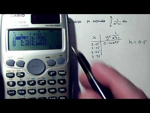 how to use the trapezium rule