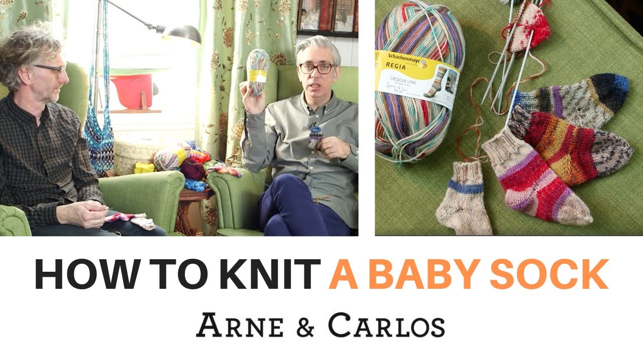 How to knit the easiest and cutest baby socks in the world by ARNE ...