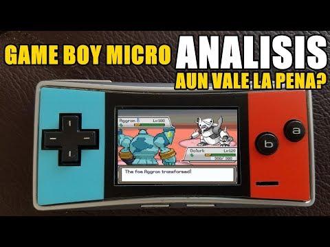 Game Boy Micro Análisis - Aun Vale la Pena?