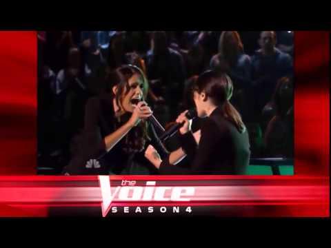 """Michelle Chamuel vs Chelsea M: """"Titanium"""" - The Voice S04 Battle Round"""