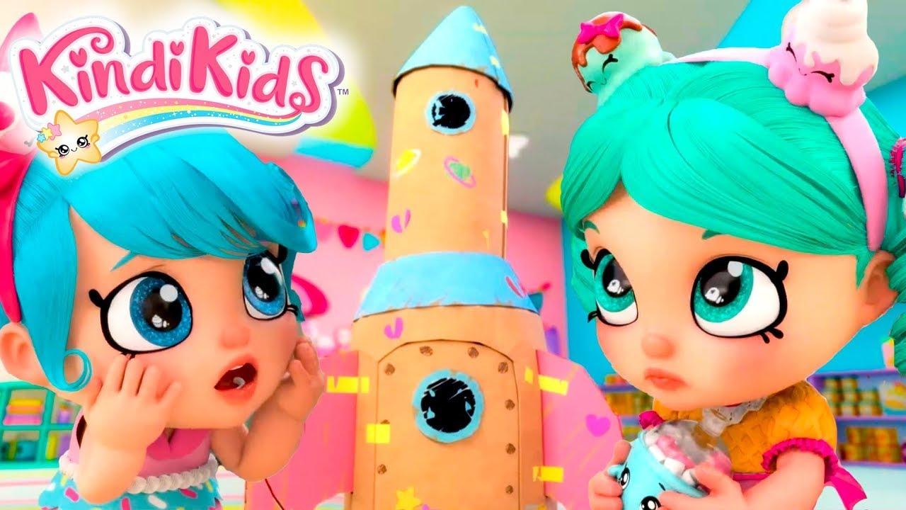 Кинди Кидс | В космос - 5 серия | Веселый мультфильм для девочек | Kedoo мультики для детей