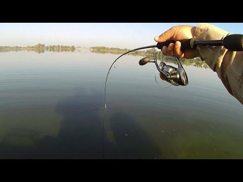 Рыбалка на судака от Михалыча. Ультралайт. Микроджиг