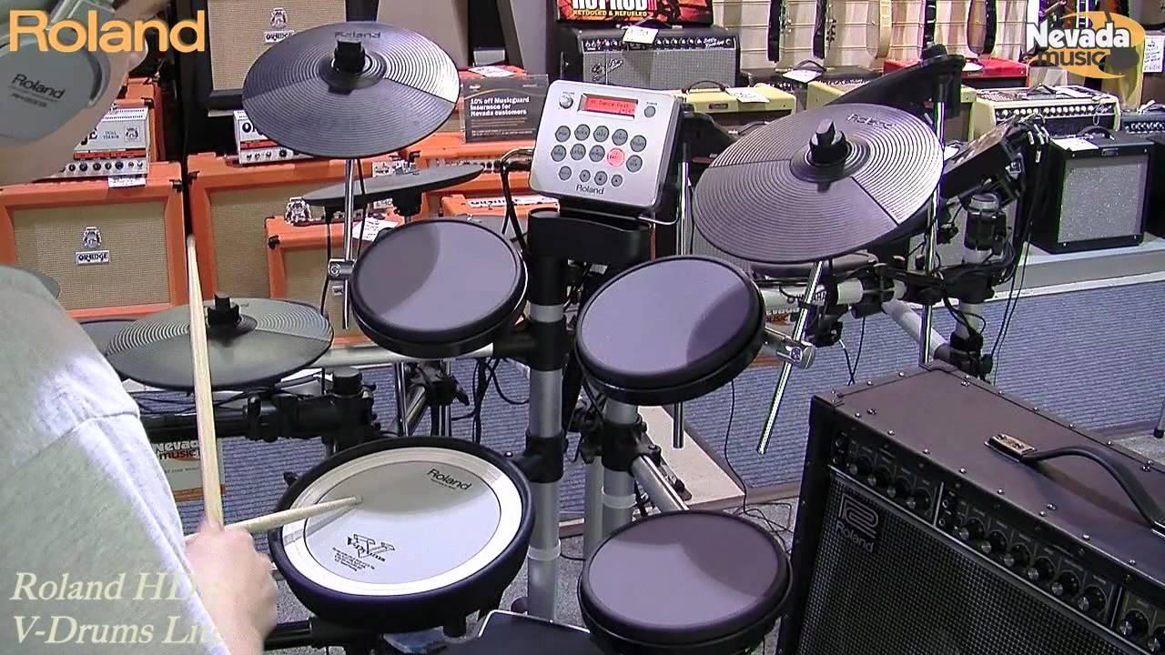 Roland HD-3 V-Drums Lite Play Test Demo - PMT